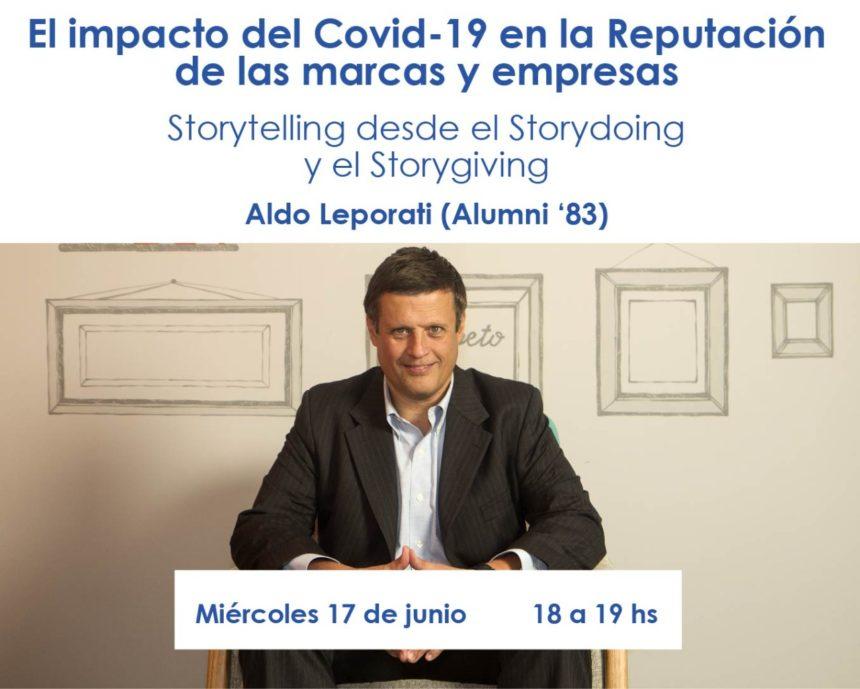 El impacto del Covid-19 en la Reputación de las marcas y las empresas (17/6)
