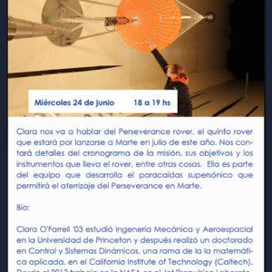 Diseñando un paracaídas supersónico para el Perseverance Mars Rover (24/6)