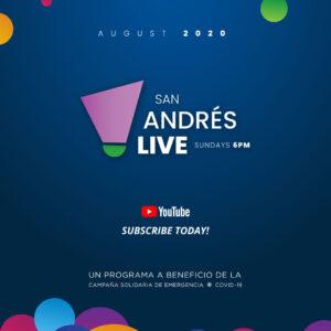 Nuevo Programa San Andrés Live @SASS