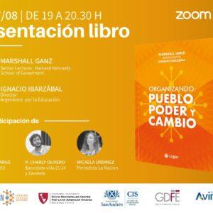 Presentación Libro: » Organizando: Pueblo, Poder y Cambio»