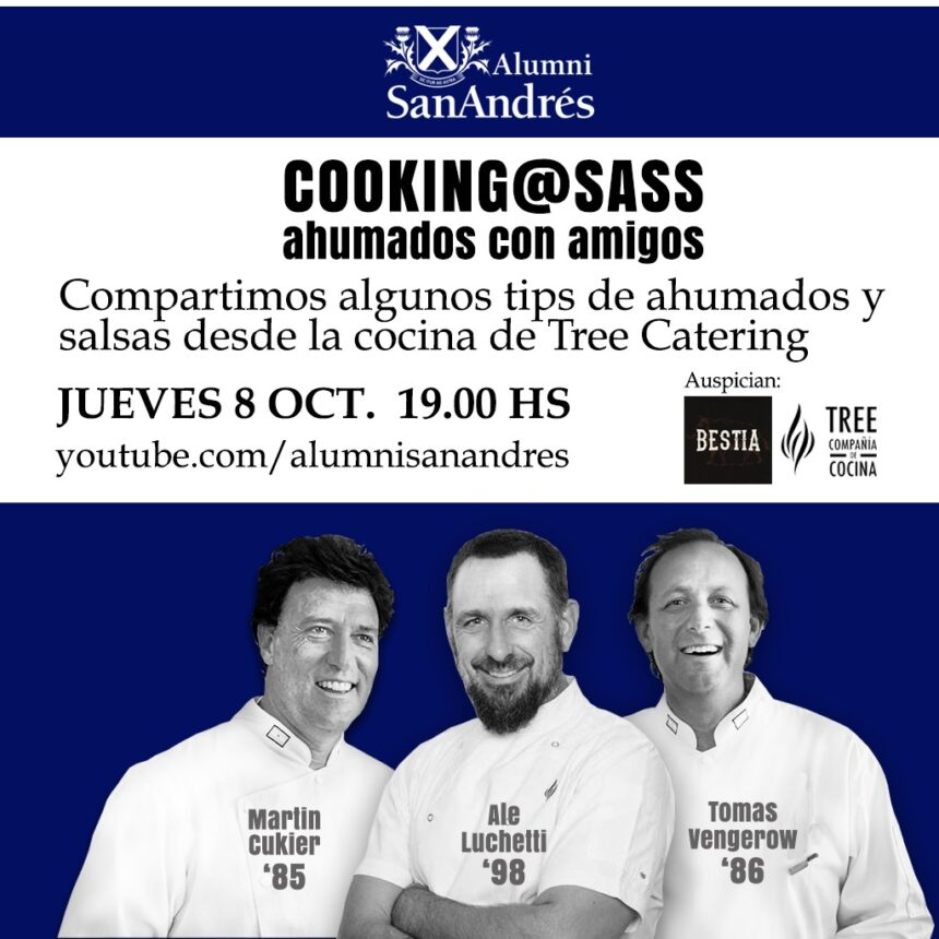 Cooking at SASS: ahumados con amigos:  8/10 19 hs