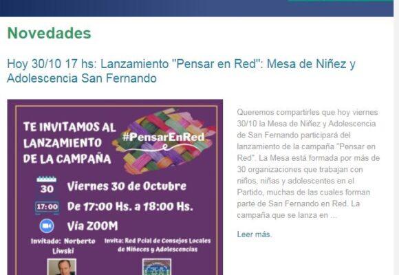 Boletín Octubre San Fernando en Red