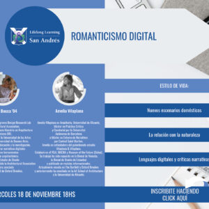 Lifelong Learning San Andrés – Romanticismo Digital – Delfina Bocca '04