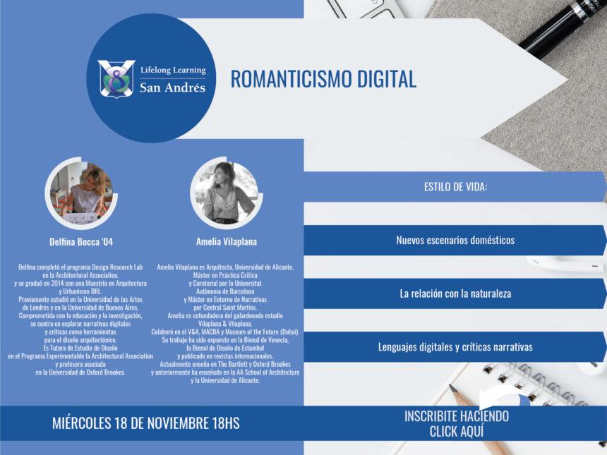 Lifelong Learning San Andrés – Romanticismo Digital – Delfina Bocca '04