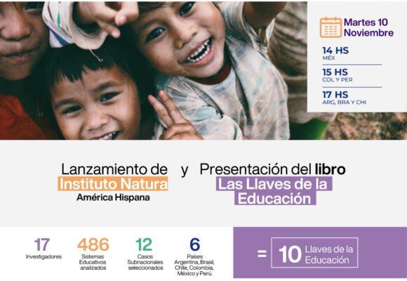 Mañana martes 10 de Noviembre a las 17 hs es la presentación abierta y gratuita del Libro «Las llaves de la educación».