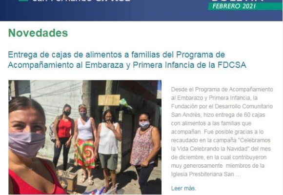 Boletín San Fernando en Red – Febrero 2021