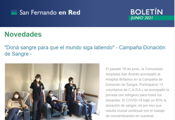 Boletín San Fernando en Red – Junio 2021