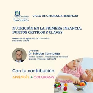 Nutrición en la Primera Infancia – Charla a Beneficio de la FDCSA